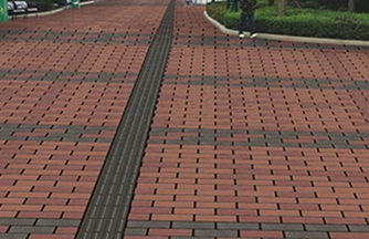 南昌透水砖是理想的吸音材料
